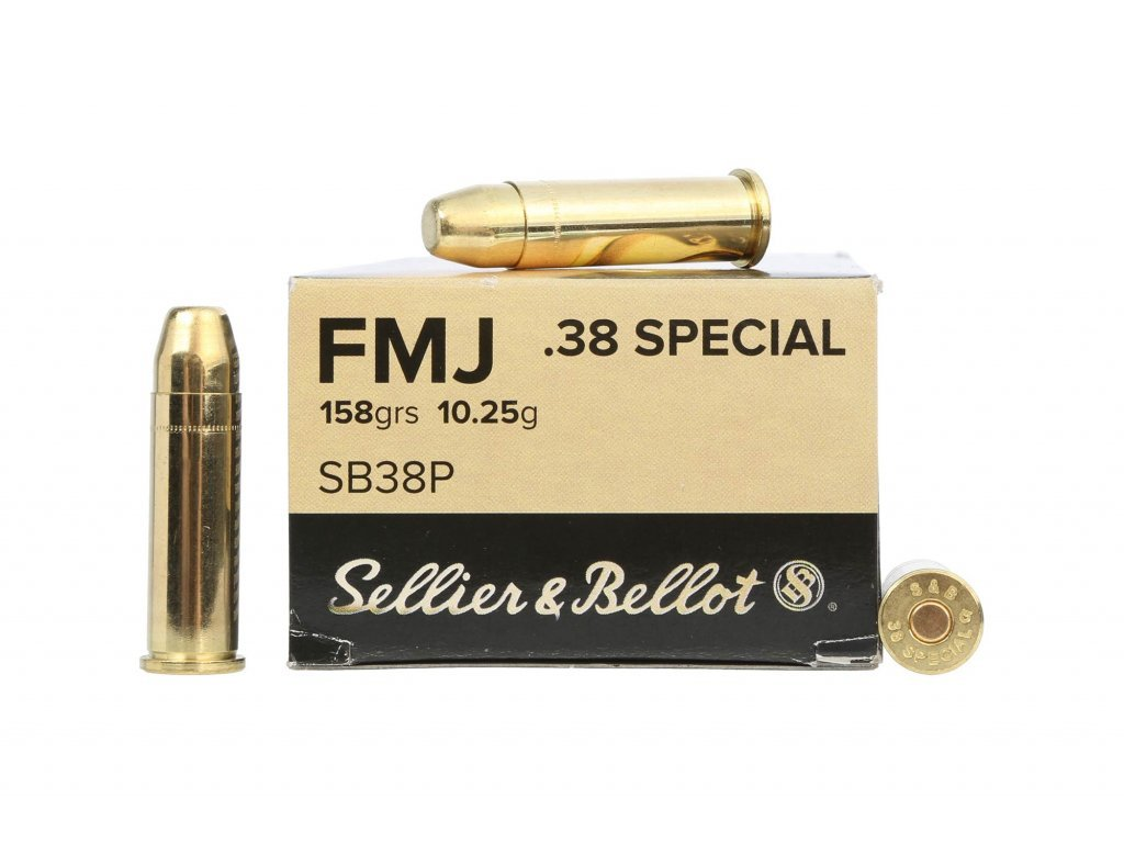 S&B .38 SPECIAL, FMJ