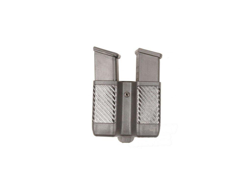 pouzdro na zasobnik 2x dvourady double mag case carbon fiber 004011 or
