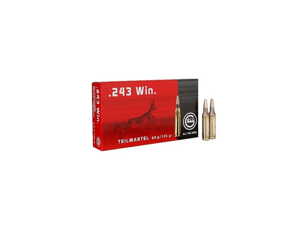 náboj kulový Geco .243WIN TM 105gr/6,8g