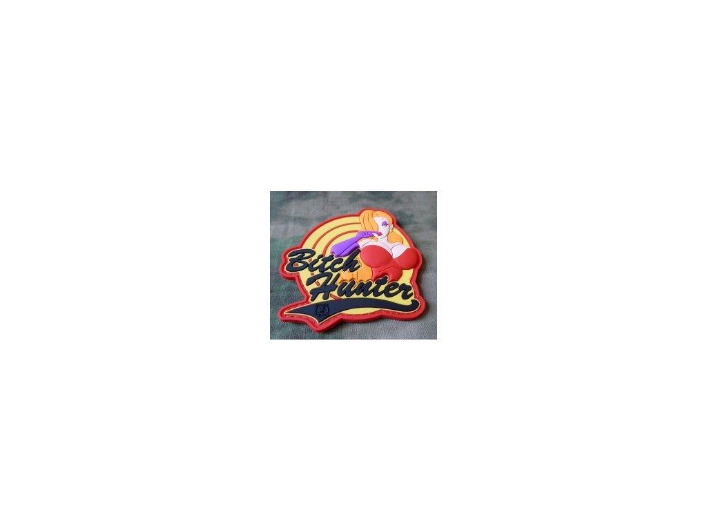 JTG.BHP.fc JTG BitchHunter Patch fullcolor JTG 3D Rubber Patch