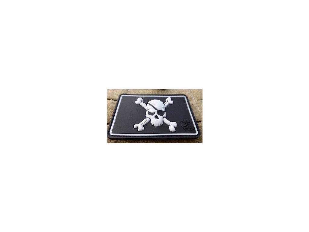 JTG.PSP.sw JTG Pirate Skull Patch swat JTG 3D Rubber patch b2