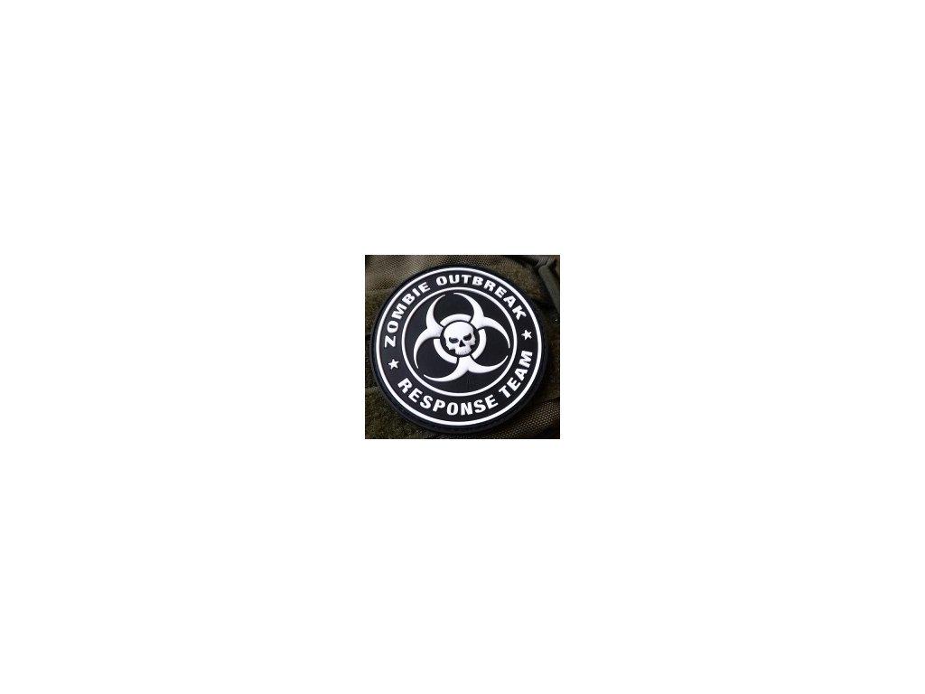 JTG.ZORT.sw JTG Zombie Outbreak Response Team Patch swat 3D Rubber patch b2