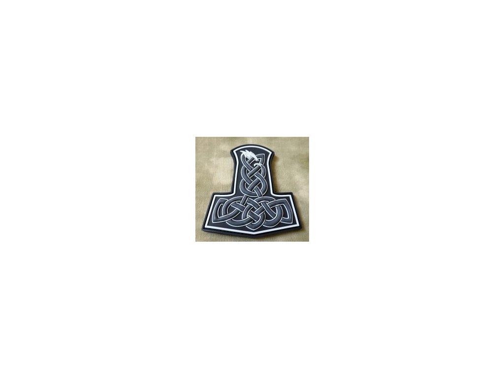JTG.DTH.sw JTG Dragon Thors Hammer Patch swat 3D Rubber patch