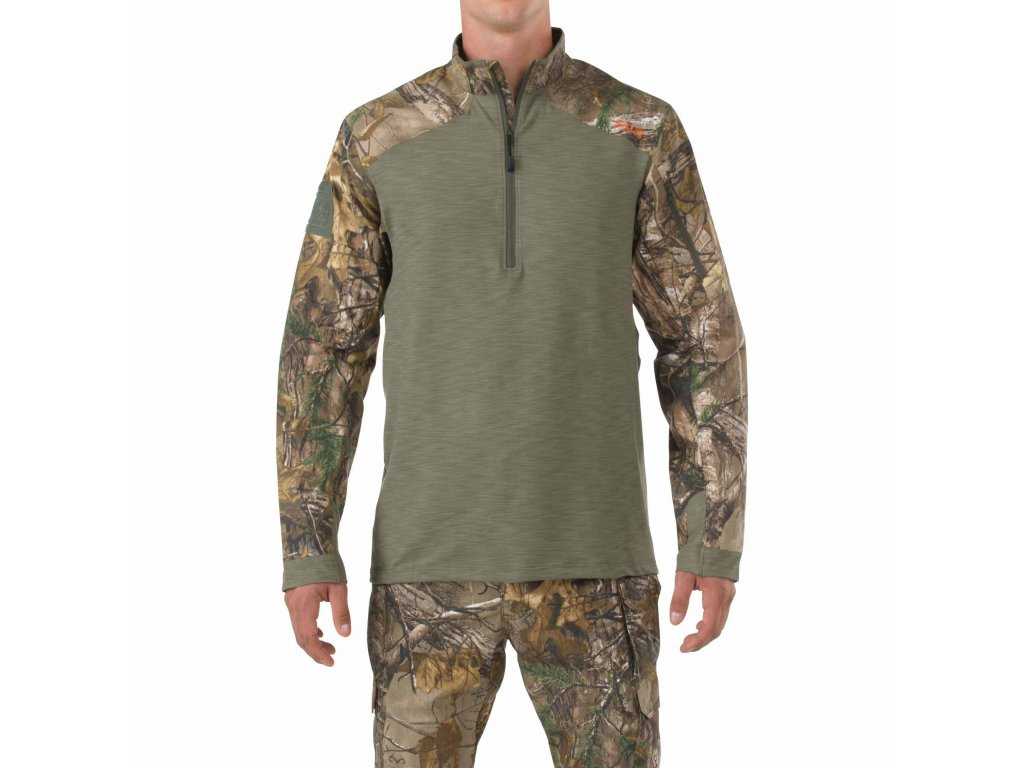 mikina 5.11 RAPID HALF ZIP REALTREE® (Rapid Quarter Zip)