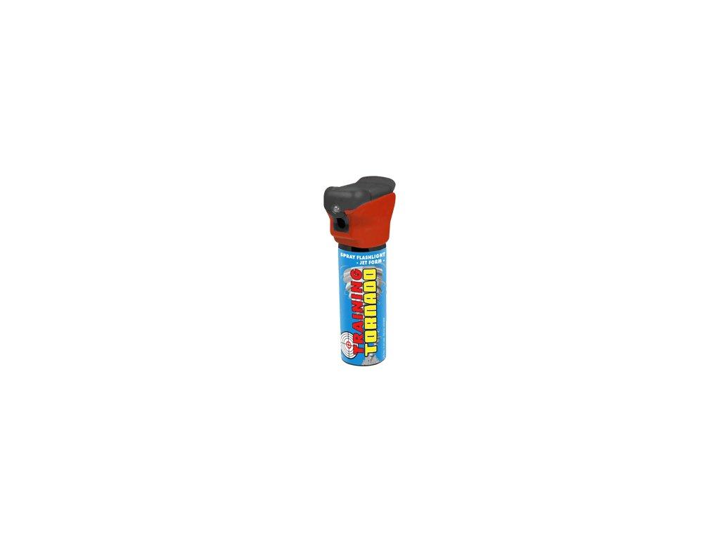 spray flashlight tornado training