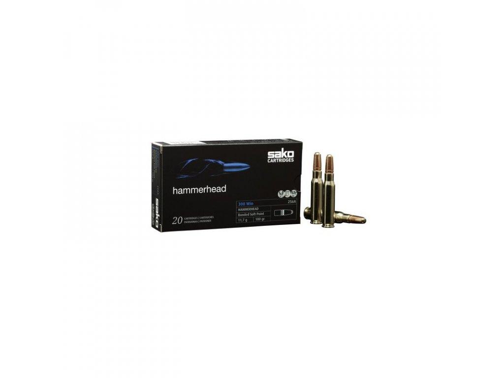 náboj kulový SAKO Hammerhead .308, BSP 180gr/11.7g