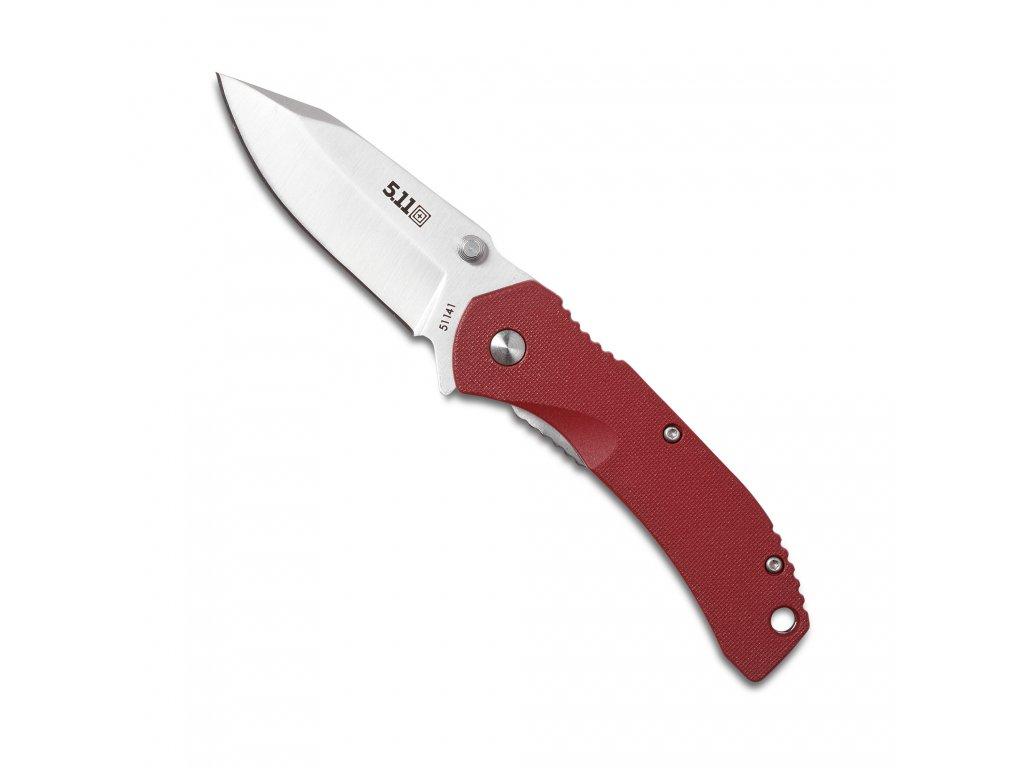 nůž zavírací 5.11 INCEPTOR CURIA, CODE RED červený
