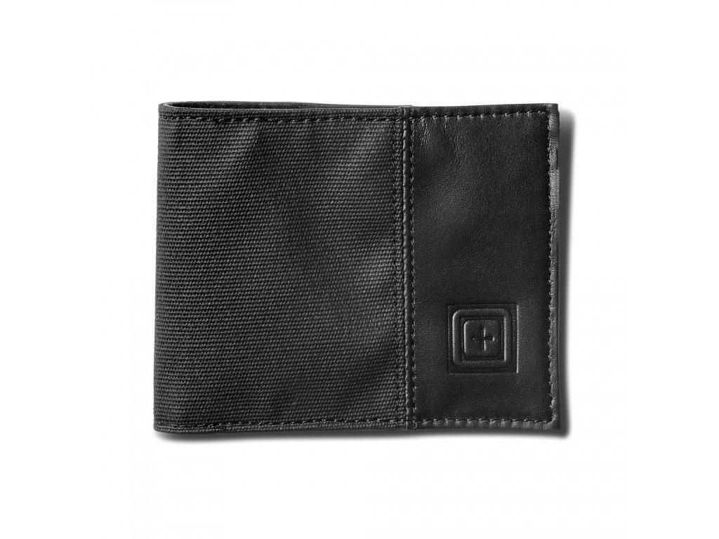 peněženka 5.11 PHANTM LTHR BIFOLD WALLET, BLACK černá