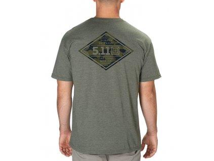 tričko s potiskem 5.11 DIAMOND CREST TEE WS