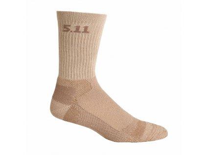 """ponožky 5.11 LEVEL 1, 6"""" nízké"""