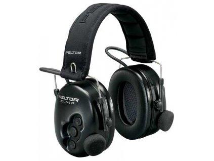 mušlové chrániče sluchu 3M™ PELTOR™ Tactical XP, aktivní