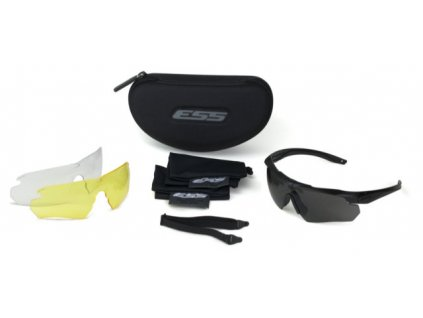 ess crossbow 3ls eyeshield kit 1 black frame 3 78 3051