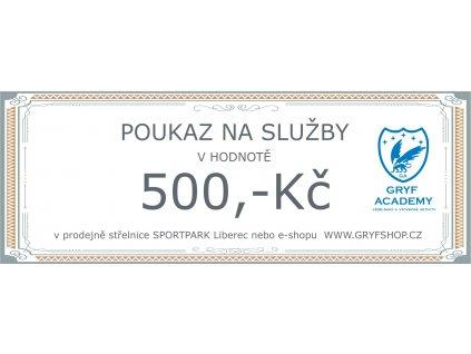 poukaz 500 sluzby 2020