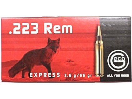 naboj geco 223 rem express 36g 20 ks 0