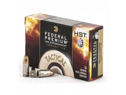 naboj kulovy federal tactical premium 9mm luger 124gr hst jhp