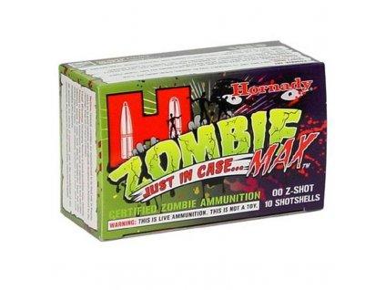 """náboj brokový buckshot Hornady Zombie Z-Max, 12/70, 8ks velikost """"00"""" (8,43mm)"""