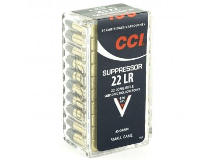 cci cci 22lr suppressor 45gr hp 505000 ct35cci957 cobratac 076683009579 54016.1611178605
