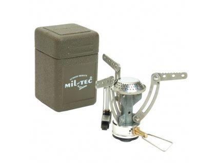 Vařič plynový MIL-TEC Spider v krabičce 1800 W
