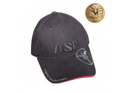 kšiltovka ASP, logo černá