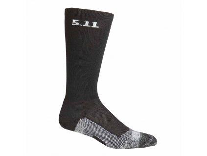 """ponožky 5.11 9"""" LEVEL1, BLACK černé"""