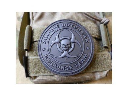 jtg zort bo jtg zombie outbreak response team patch blackops 3d rubber patch 1