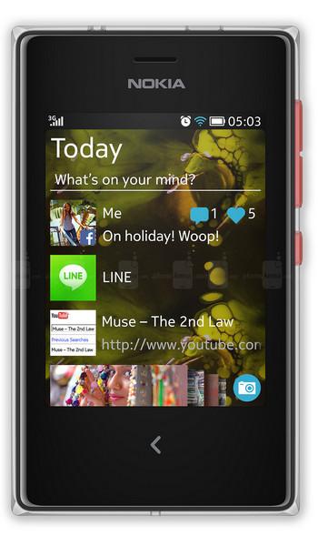 Náhradné diely Nokia Asha 503
