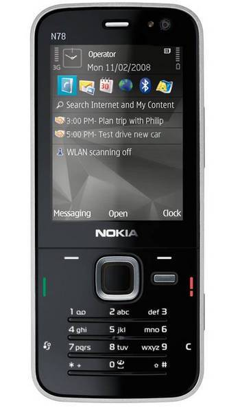 Náhradné diely Nokia N78