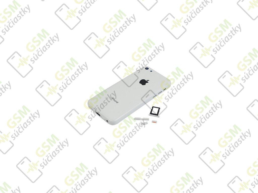 iPhone 5C Baterkový kryt biely