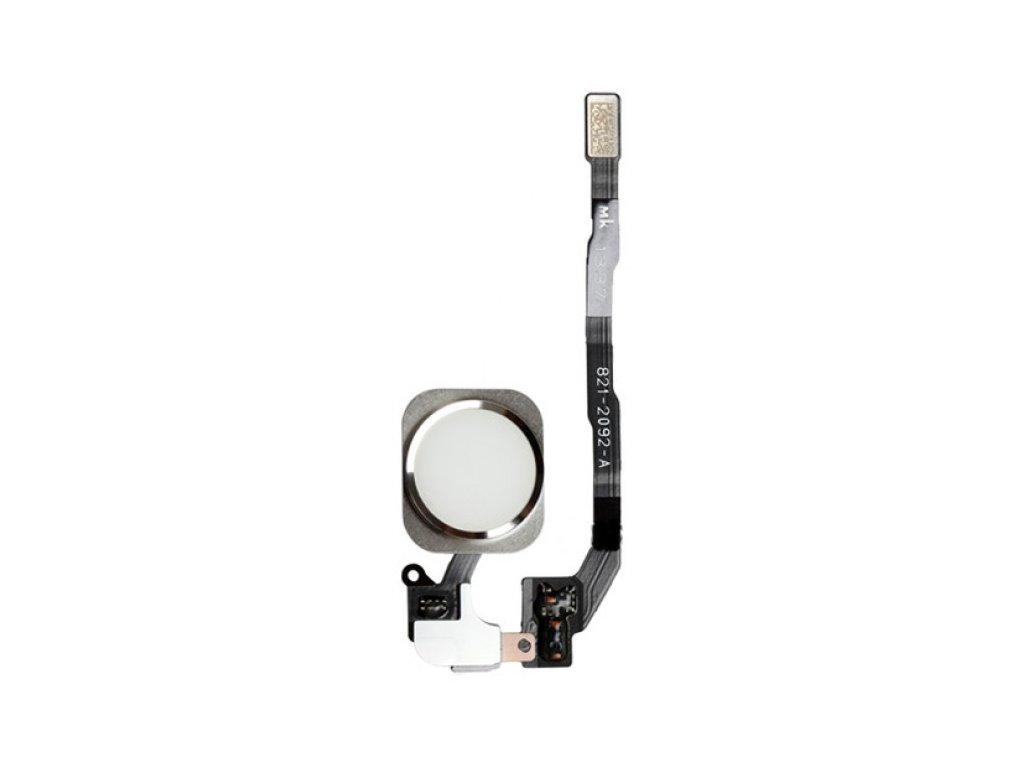 Flex kábel Home Button iPhone 5S, Iphone SE biely