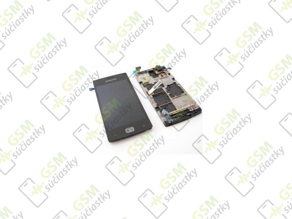 LCD displej Samsung I8350 Omnia W - dotykové sklo