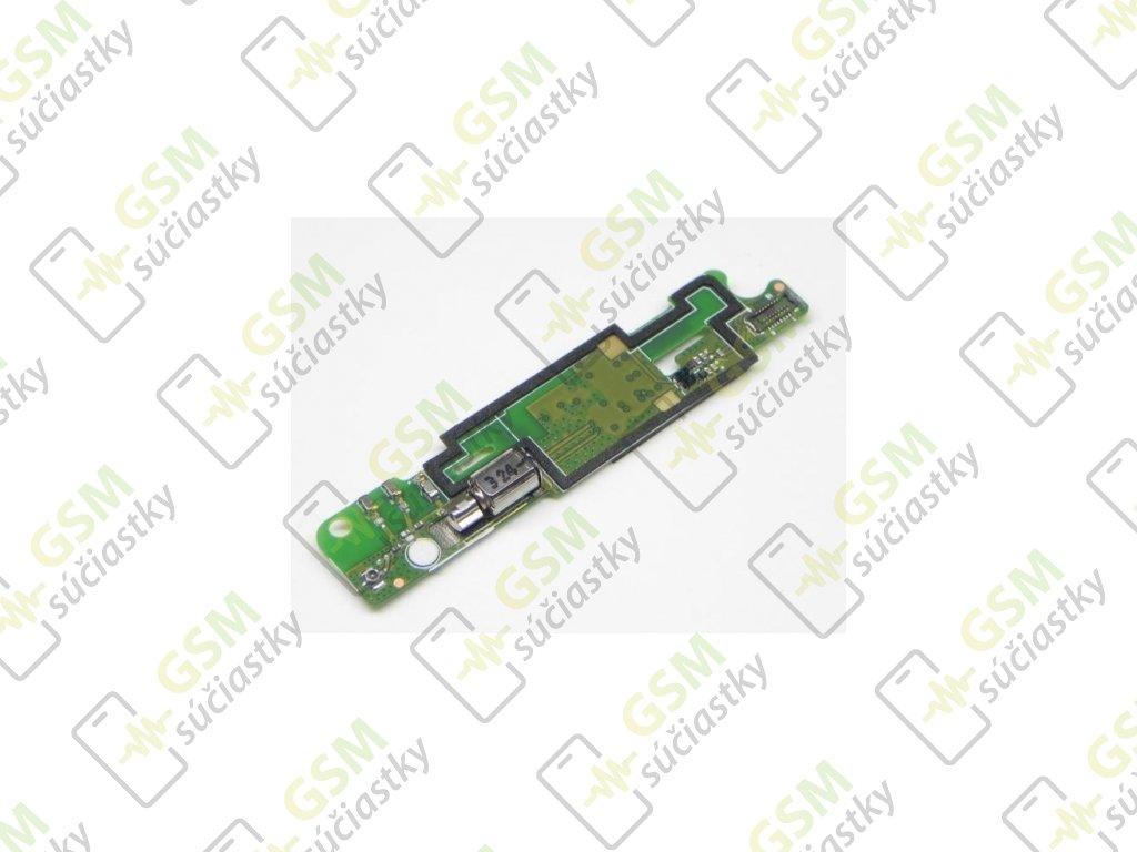 Doska MIC Sony Xperia L C2105 - mikrofón, vibračný motorček