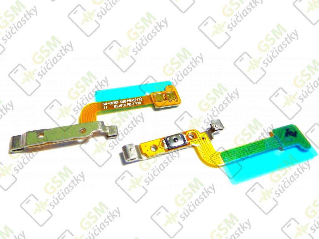 Flex kábel ON/OFF Samsung G920F Galaxy S6 - zapínania