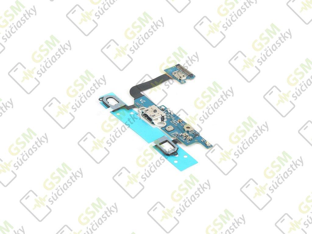 Flex kábel nabíjania Samsung G850F Galaxy Galaxy Alpha - nabíjací konektor, mikrofón