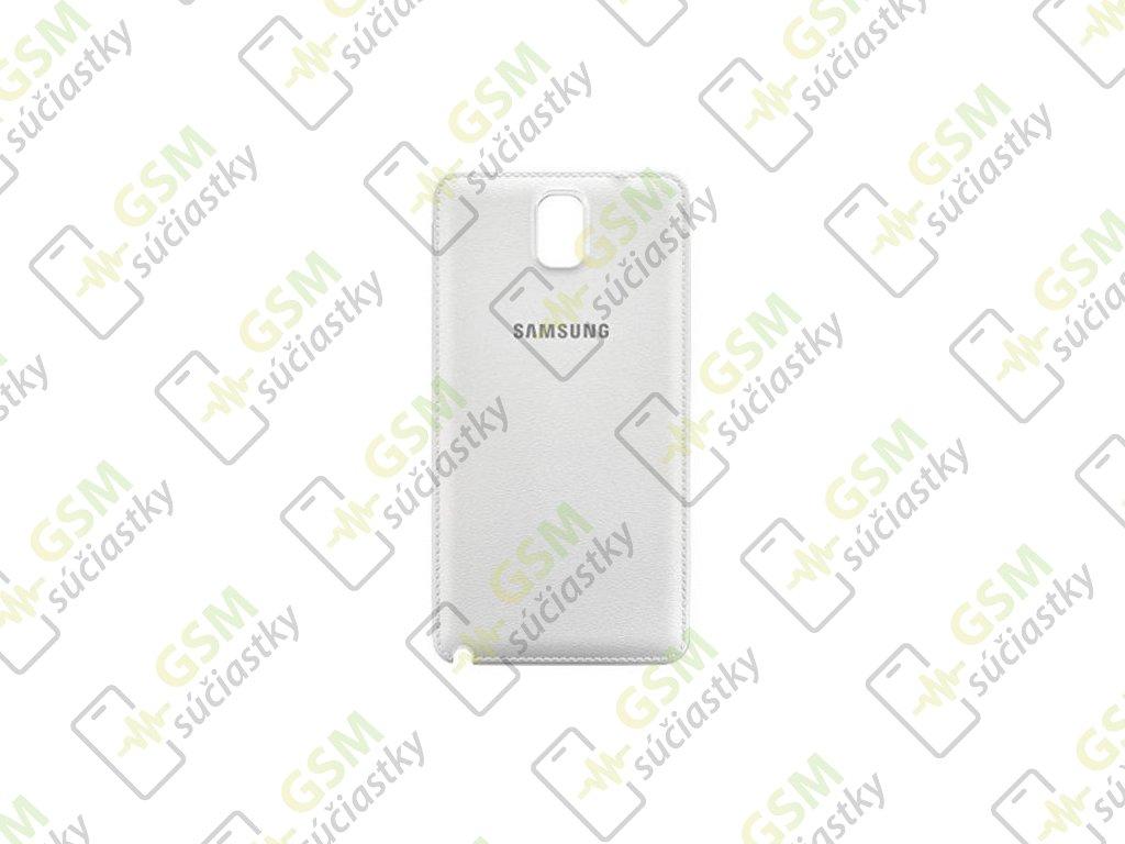 zadný kryt Samsung N9005 Galaxy Note 3 biely