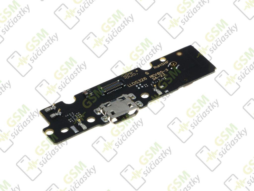 Spodná doska nabíjania Motorola Moto E5 Plus - Flex nabíjací konektor, mikrofón