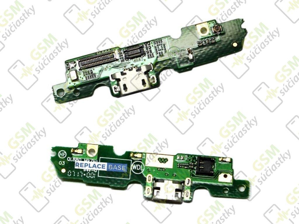 Spodná doska nabíjania Lenovo Moto G5 - Flex nabíjací konektor, mikrofón