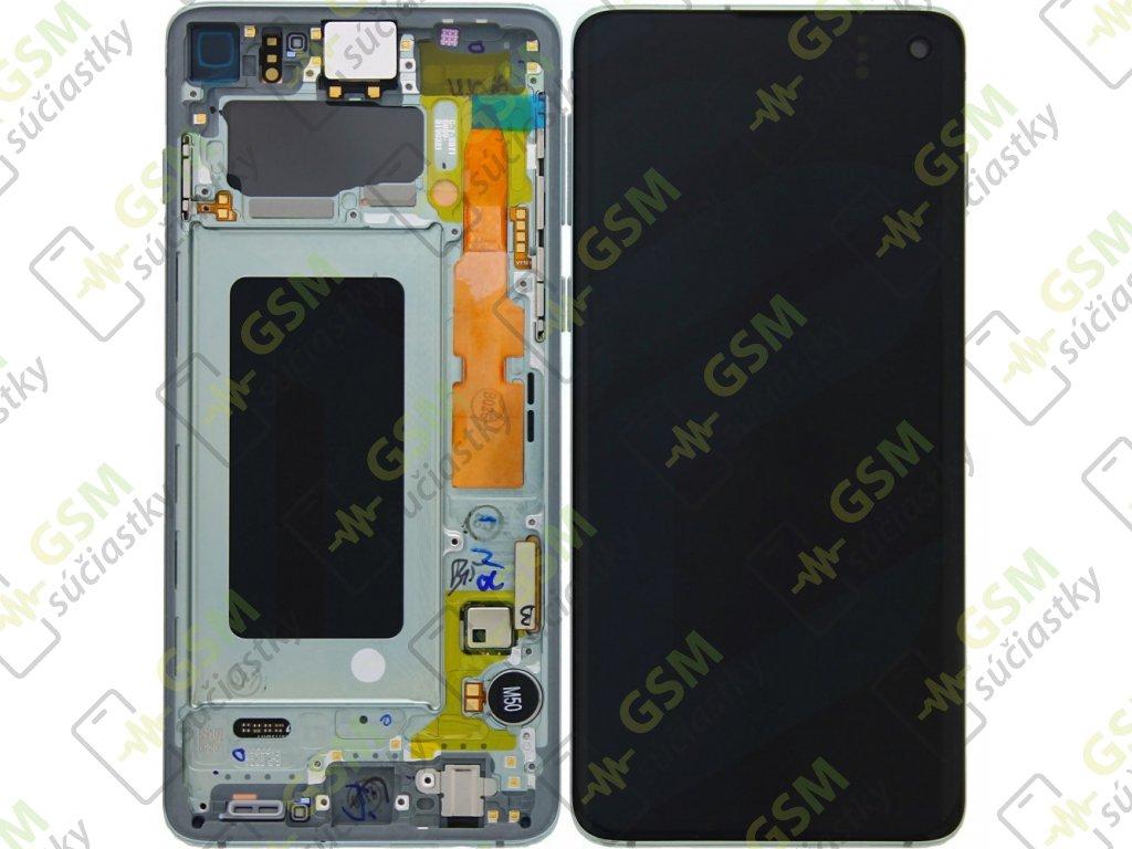 LCD displej Samsung G973 Galaxy S10 a Dotykové sklo