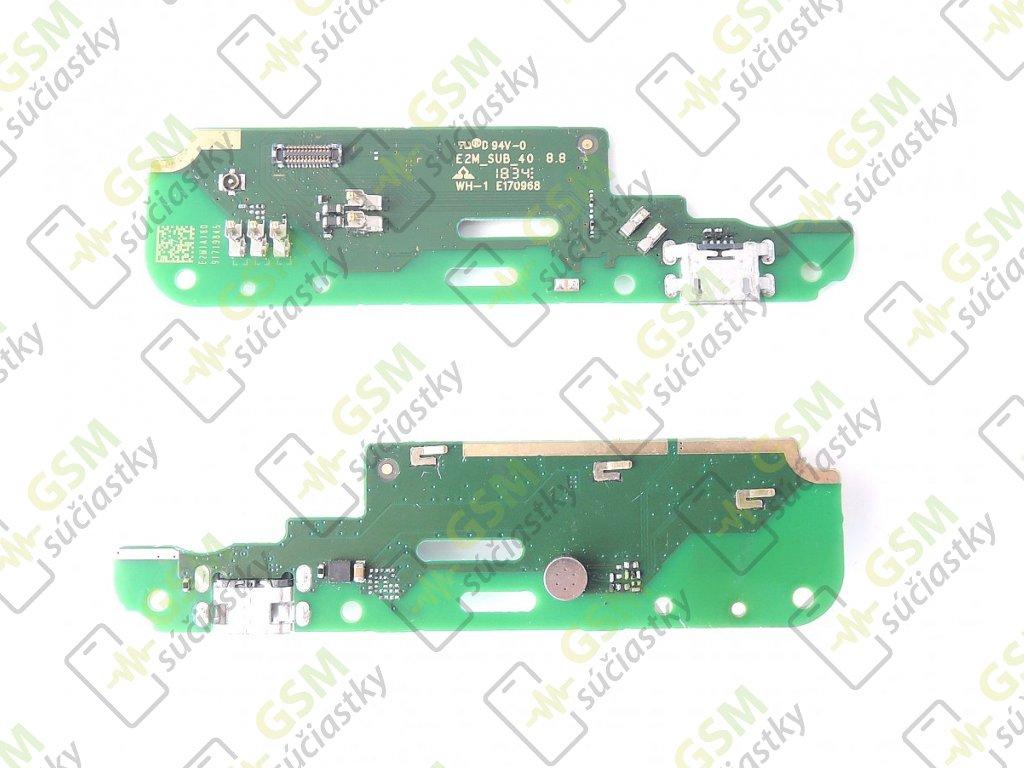 Spodná doska nabíjania Nokia 2.1 - Flex nabíjací konektor, mikrofón