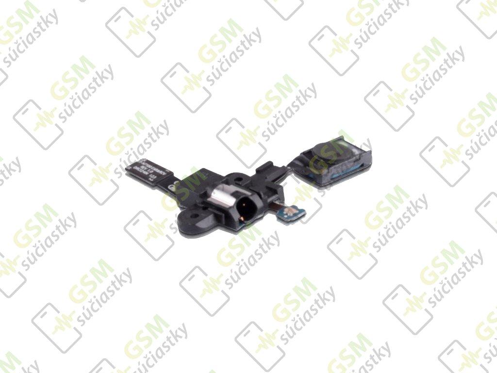 Flex kábel audio jack konektor Samsung N7100 Galaxy Note 2 - slúchatko
