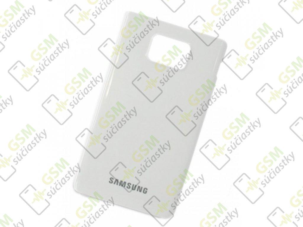 Zadný kryt pre Samsung I9100 Galaxy S2 biely