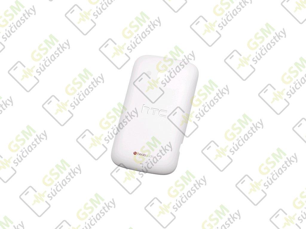 Baterkový kryt HTC Desire C biely