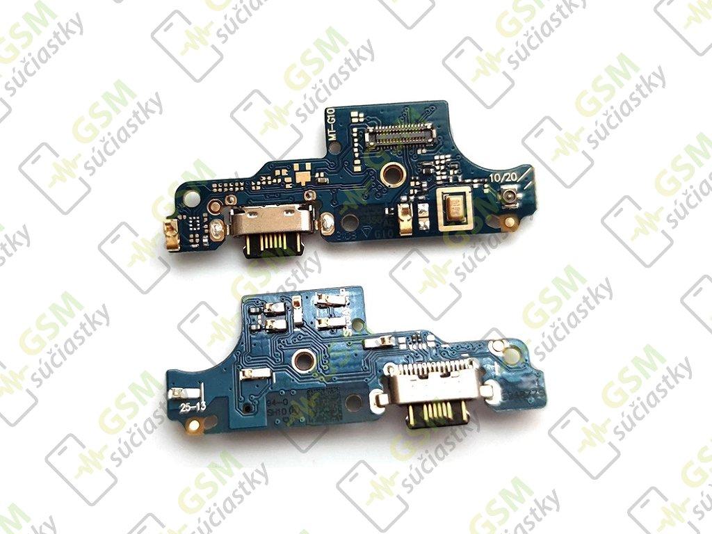 nabíjací konketor, mikrofón a doska Motorola Moto G10