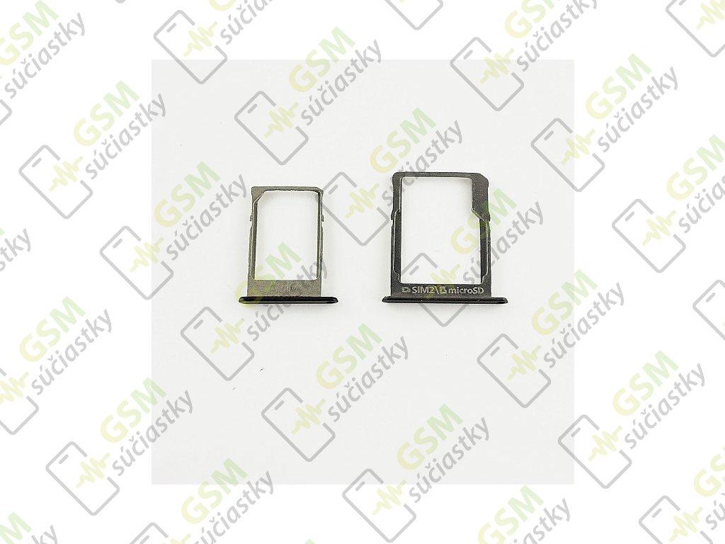Držiak SIM karty a SD karty Samsung A300F, A500F, A700F - 2 farby