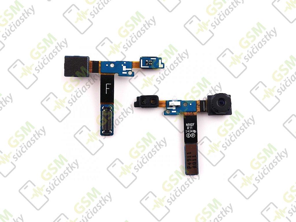 Flex kábel predná kamera Samsung N910F Galaxy Note 4 - proximity senzor