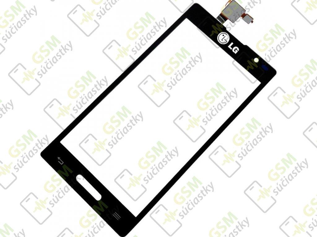 Dotykové sklo LG P760 Optimus L9 čierný + Lepka