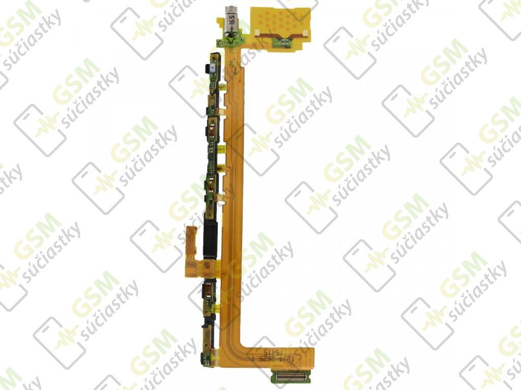 Flex kábel ON/OFF Sony E6853, E5883 Xperia Z5  Premium - zapínania, hlasitosti
