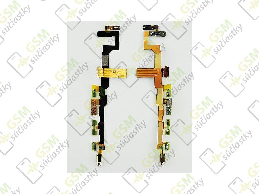 Flex kábel ON/OFF Sony E5823 Xperia Z5 compact - zapínania, hlasitosti