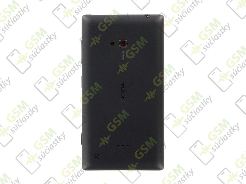 Zadný baterkový kryt Nokia Lumia 720 čierny