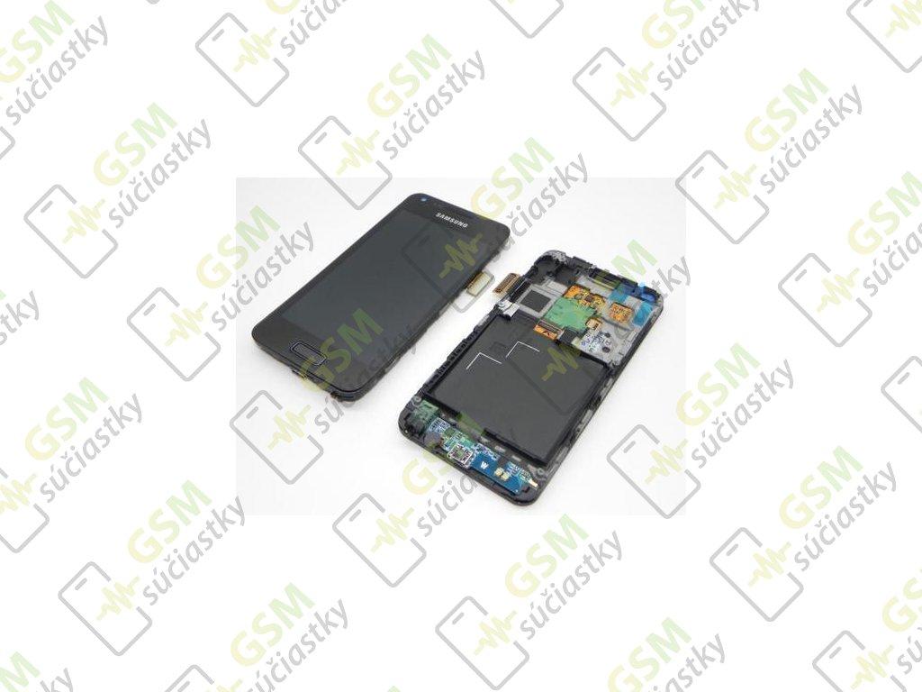 LCD displej  Samsung I9070 Galaxy Advance - Dotykové sklo a Rám