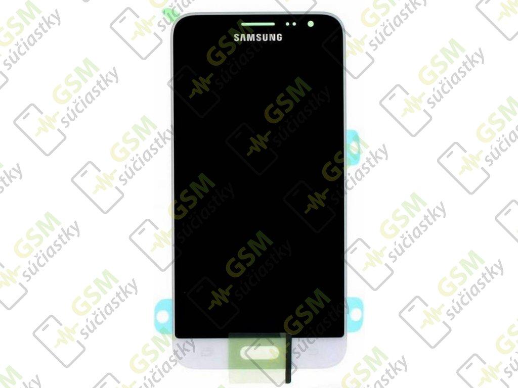 lcd displej Samsung J320FN Galaxy J3 2016 dotykové sklo biele